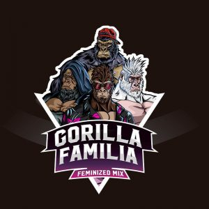 Mix Semillas Gorilla Familia 12 semillas de marihuana